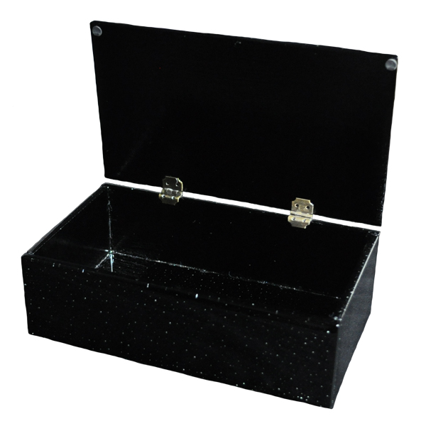 Hinged boxes for Black box container studios